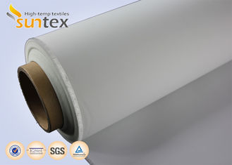 Heat And Cold Resistant PU Coated Fiberglass Fabric 0.4mm For Air Distribution Ducts M0