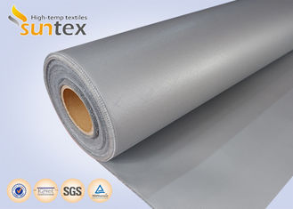 16 OZ Thermal Insulation Cover Silicone Coated Fiberglass Fabric Cloth Grey No Oil Dropping